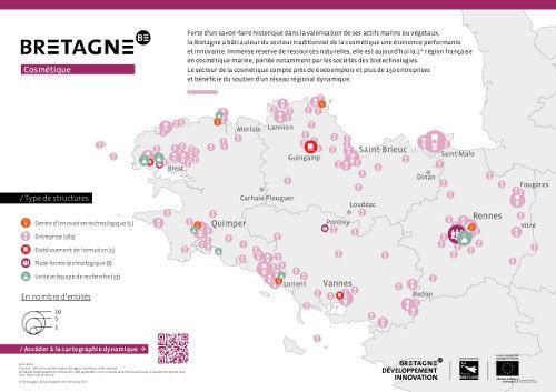 Cartographie des acteurs bretons de la cosmétique