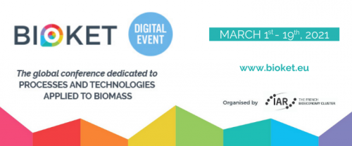 BIOKET 2021 : un événement à la demande pour les procédés et technologies innovantes appliqués à la biomasse